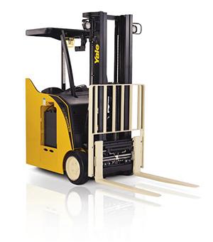 ESC-AD Three-wheel, Stand-up Narrow Aisle Forklift