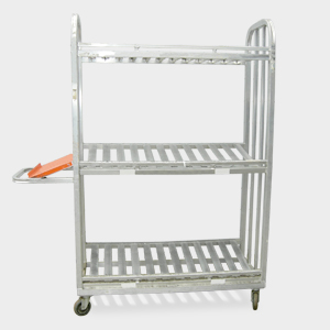 Heavy Duty 3 Tier Picking Carts Material Handling