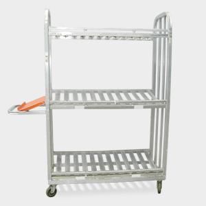 Heavy Duty 3 Tier Picking Carts Material Handling