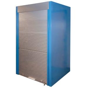 Lista International Aluminum Tambour Door For Storage Wall System