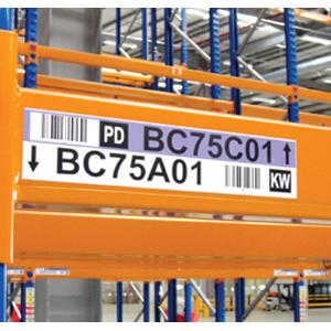Line Of Rack Labels Material Handling 24 7