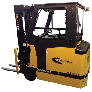 Drexel SLT30AC and SLT35AC narrow aisle forklift - Material