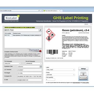 ghs cloud based printing solution material handling 24 7. Black Bedroom Furniture Sets. Home Design Ideas