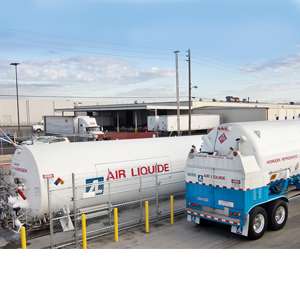 North American fueling stations for fuel cell hydrogen - Material