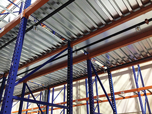 Steel Fire Baffles For Rack Systems Material Handling 24 7