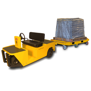Pack Mule tugger and tow tractor - Material Handling 24/7