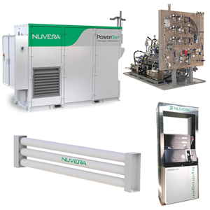 PowerTap hydrogen supply equipment for fuel cells - Material