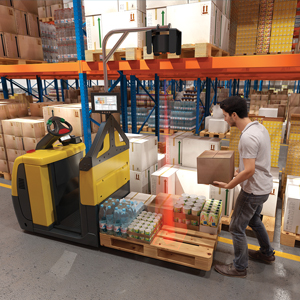 SAT Stack Assist Tool for mixed pallet loads - Material