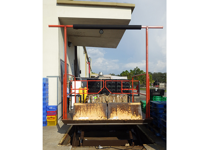 Dock Lift Safety Gate Material Handling 24 7