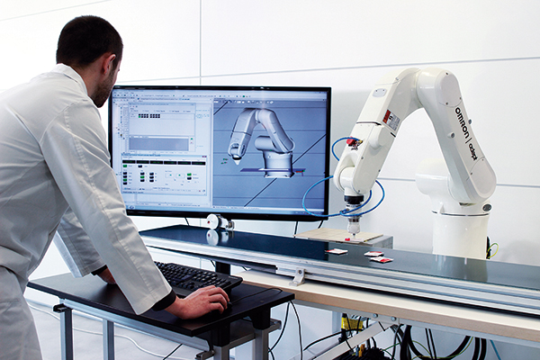 Service program for robotic equipment - Material Handling 24/7