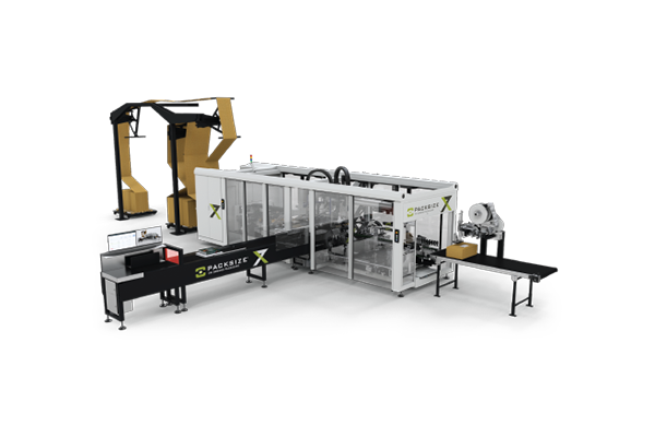 X7 automated packaging machine - Material Handling 24/7