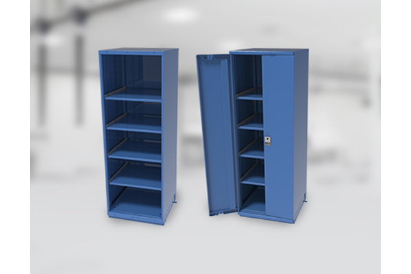 Tall Storage Cabinets Ideal For Manufacturing, Production Facilities.