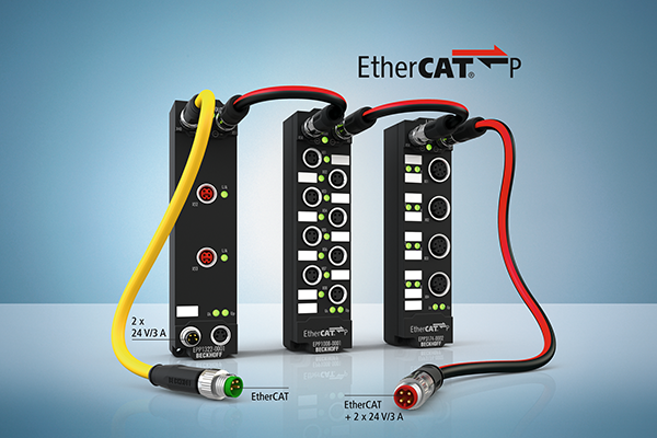 EtherCAT P I/O system - Material Handling 24/7
