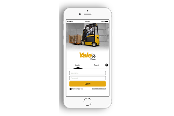 Yale Vision telemetry solution - Material Handling 24/7