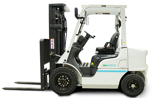 Unicarriers pneumatic forklift